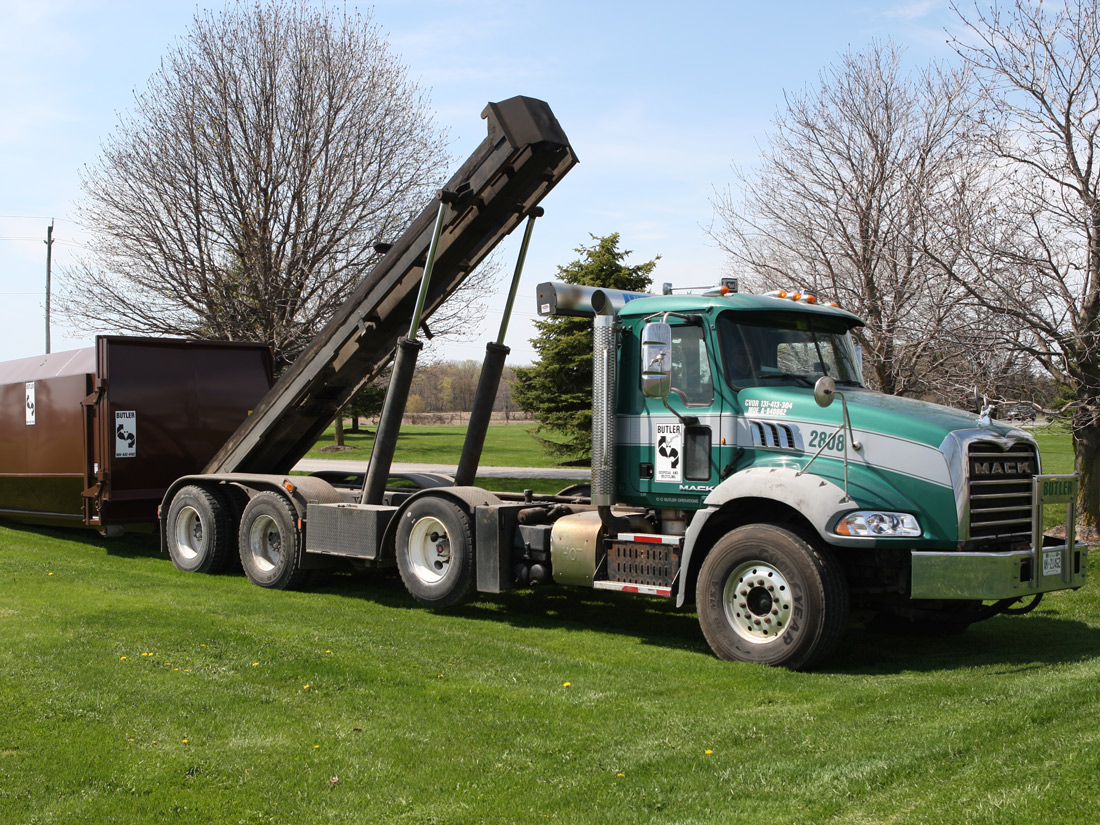 Butler Disposal and Recycling - some of the fleet.
