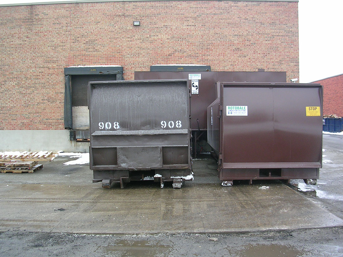 Bread Co Dual Enclosure waste management system by Butler Disposal and Recycling